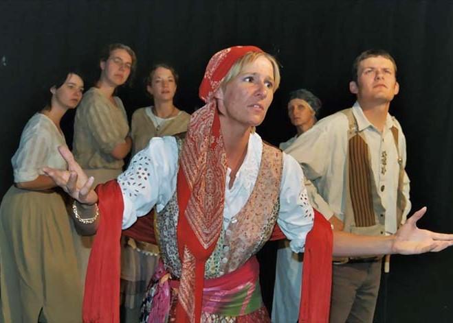 """Singspiel """"Das Mädchen Ruth"""",  2008 im Burgbachkeller Theater in Zug"""