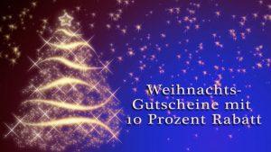 Gutscheine für Musik- oder Schauspielunterricht als Weihnachtsgeschenk